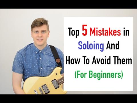 Improve Your Beginner Guitar Solo